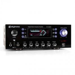 Skytronic 103.208 AV-100 hifi erősítő, karaoke, USB, MP3