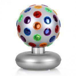 OneConcept Disco Ball fényeffekt, 7 W, ezüst