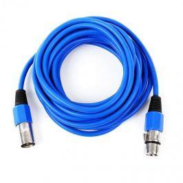 FrontStage XLR kábel, kék, 6m