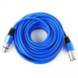 FrontStage XLR kábel, kék, 10m