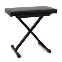 Malone Piano Bench, zongoraszék, állítható magasság, fekete