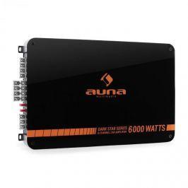 Auna Dark Star 6000, 600 W, 6 csatornás végfokerősítő