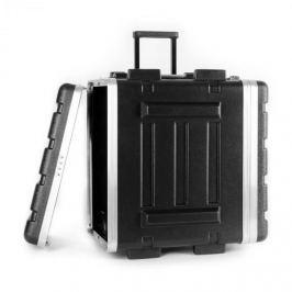 "FrontStage ABS-Trolley flightcase, rack case, koffer, 19"", 6 U"