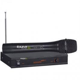 Ibiza VHF-1A wireless mikrofon rendszer, nagy frekvencia terjedelem, 90dB