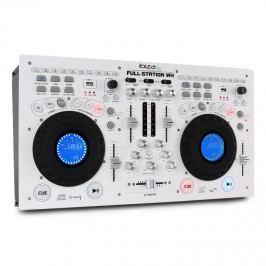 Ibiza Full Station DJ készlet, dupla CD lejátszó, scratch