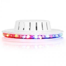 Ibiza LED UFO fényeffekt, fehér, mikrofon, RGB