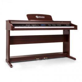 SCHUBERT Subi88P2 elektromos zongora, 88 billentyű, barna