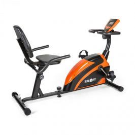 Klarfit Relaxbike 5G, fekvő bicikli, narancssárga-fekete