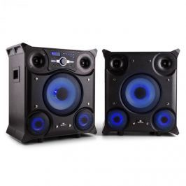 Malone GTX-5, 800 W, parti hangfal rendszer, bluetooth, USB, FM, LED