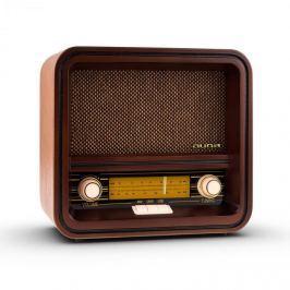 Auna Belle Epoque 1901, retró rádió, nosztalgia rádió, FM, AM, USB, MP3