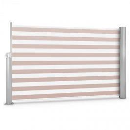 Blumfeldt Bari 318, krémszínű-fehér, 300x180 cm, oldalnapellenző, oldalroló, alumínium