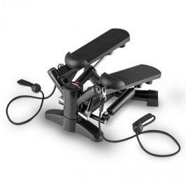 Klarfit Powersteps, fekete, forgó taposógép expanderekkel