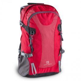 CAPITAL SPORTS CS 38 szabadidő- és turisztikai hátizsák, 38 liter, vízlepergető nylon, piros
