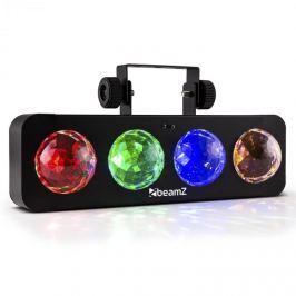 Beamz DJ Bank BX LED fényeffekt, 4 x RGBA-LED, távirányító, fekete