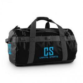 CAPITAL SPORTS Travel M, utazótáska, hátizsák, 60 l, kocsi, vízlepergető, fekete