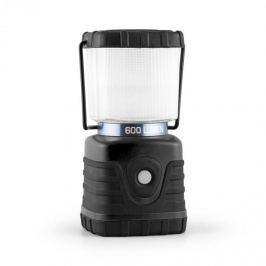 Yukatana Yorion, fekete, 600 Lumen, 150 óra, 15 m, kemping lámpa, LED, akkumulátor, szögletes