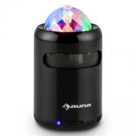 Auna Discohead, bluetooth LED hangszóró, vezeték nélküli, MP3, rádió, hands free
