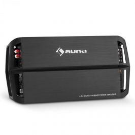 Auna AMP490BK, 360 W, 4 csatornás autó erősítő, A/B osztály, erősítő, távirányítás