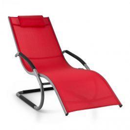 Blumfeldt Sunwave, piros, kerti ágy, ágy, hintaágy, relax, alumínium