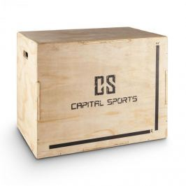 "CAPITAL SPORTS Shineater, Plyo Box három magassággal 20"" 24"" 30"""
