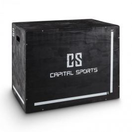 "CAPITAL SPORTS Shineater, fekete, Plyo Box három magassággal 20"" 24"" 30"""