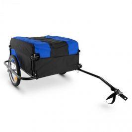 DURAMAXX Mountee utánfutó biciklire, 130l, fekete-kék, acélkeret