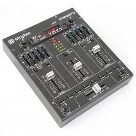 Skytec STM-2270, 4 csatornás keverőpult, bluetooth, USB, SD, MP3, FX