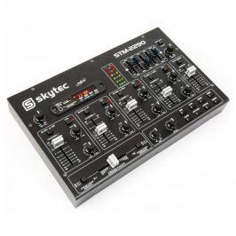 Skytec STM-2290 6-csatornás keverőpult, bluetooth, USB, SD, MP3, FX
