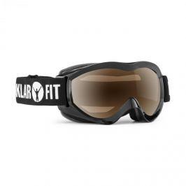 Klarfit Snow View síszemüveg, snowboard, REVO bevonat, teljes keret, fekete