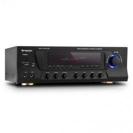 Auna AMP-3800 USB, fekete, 5.1 csatornás surround vevő, max. 600 W, USB, SD, FM