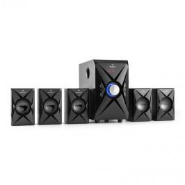 Auna X-Plus 5.1 csatornás hangfal rendszer, USB, SD, AUX, max. 70 W