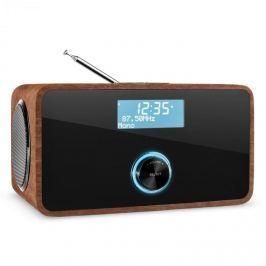 Auna DABStep, diófa, DAB/DAB+ digitális rádió, bluetooth, FM, RDS, ébresztőóra