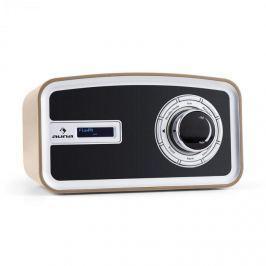 Auna Sheffield digitális retró rádió, DAB+, FM, elem, mokka