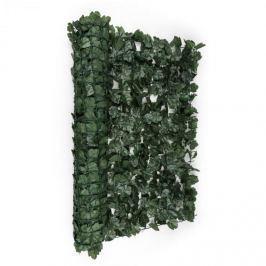 Blumfeldt Fency Dark Ivy, sötétzöld, borostyán, kerítés, védelmet nyújt a kíváncsi tekintetekkel és a széllel szemben, 300 x 100 cm