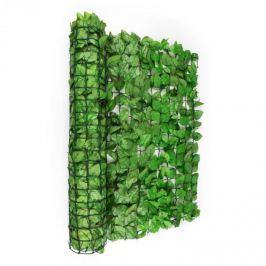 Blumfeldt Fency Bright Leaf, világoszöld, bükk, kerítés, védelmet nyújt a kíváncsi tekintetekkel és a széllel szemben, 300 x 150 cm