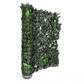 Blumfeldt Fency Dark Leaf, sötétzöld, mix, kerítés, védelmet nyújt a kíváncsi tekintetekkel és a széllel szemben, 300 x 100 cm