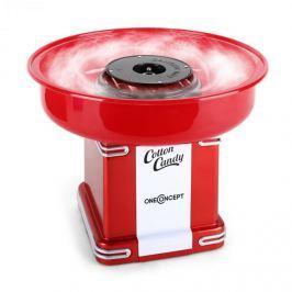 OneConcept Candyland 2, 500 W, retró cukorvatta gép, piros