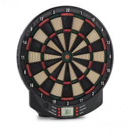 OneConcept Dartomat elektromos darts céltábla, puha hegyű nyilak, 26 játék, hangok