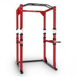 CAPITAL SPORTS Tremendour Power Rack otthoni fitnesz állvány, acél, piros-fehér