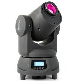 Beamz Panther 50 LED Spot Movinghead, fényhatás, 9 gobo minta,7 szín