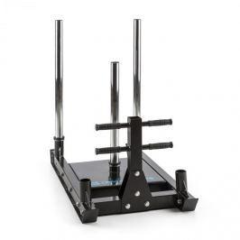 CAPITAL SPORTS Sledster Plus, súly szán, acél, masszív, ø 50 mm