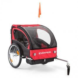 DURAMAXX Trailer Swift gyermekszállító kerékpár utánfutó, 2 ülés, max. 20 kg