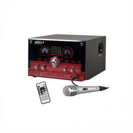 Majestic Audiola AHB-2290K 2.1 audió rendszer, USB, SD, AUX, MIC, mikrofon, piros