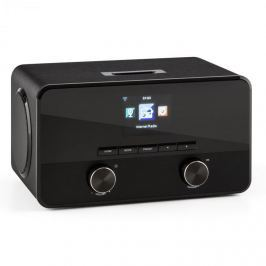 Auna Connect 100, internet rádió, média lejátszó, bluetooth, WLAN, USB, AUX, vonalas kimenet
