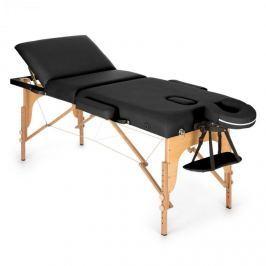 Klarfit MT 500 masszázságy, 210 cm, 200 kg, összecsukható, finom felület, táska, fekete