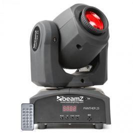 Beamz Panther 25 LED Spot Movinghead fényhatás, 7 gobo minta, 7 szín, távirányító