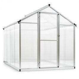 Blumfeldt Greencastle 4K üvegház, 190 x 195 x 242 cm (SZxMxM), alumínium, műanyag