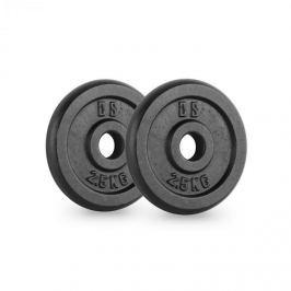 CAPITAL SPORTS IPB 2.5, fekete, súlytárcsák, pár, 30 mm, 2,5 kg