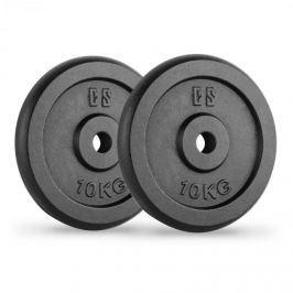 CAPITAL SPORTS IPB 10, fekete, súlytárcsák, pár, 30 mm, 10 kg