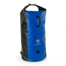 Yukatana Quintono 100 trekking hátizsák, 100 liter, vízálló, fekete/kék